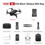 Eachine EX4 RC Quadcopter Drone Helicopter with 4K Professional HD Camera