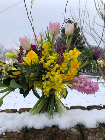 British Winter Gift Bouquets