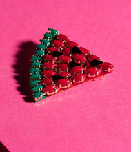 Load image into Gallery viewer, Elsa O Exotic Watermelon Brooch