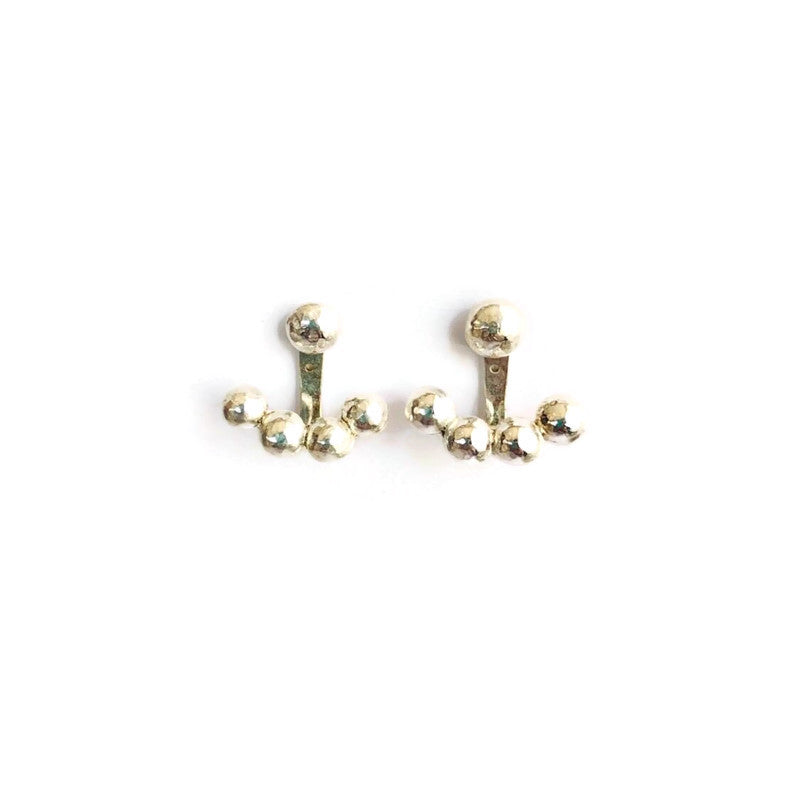 Deena Wagdy Crescent Earrings