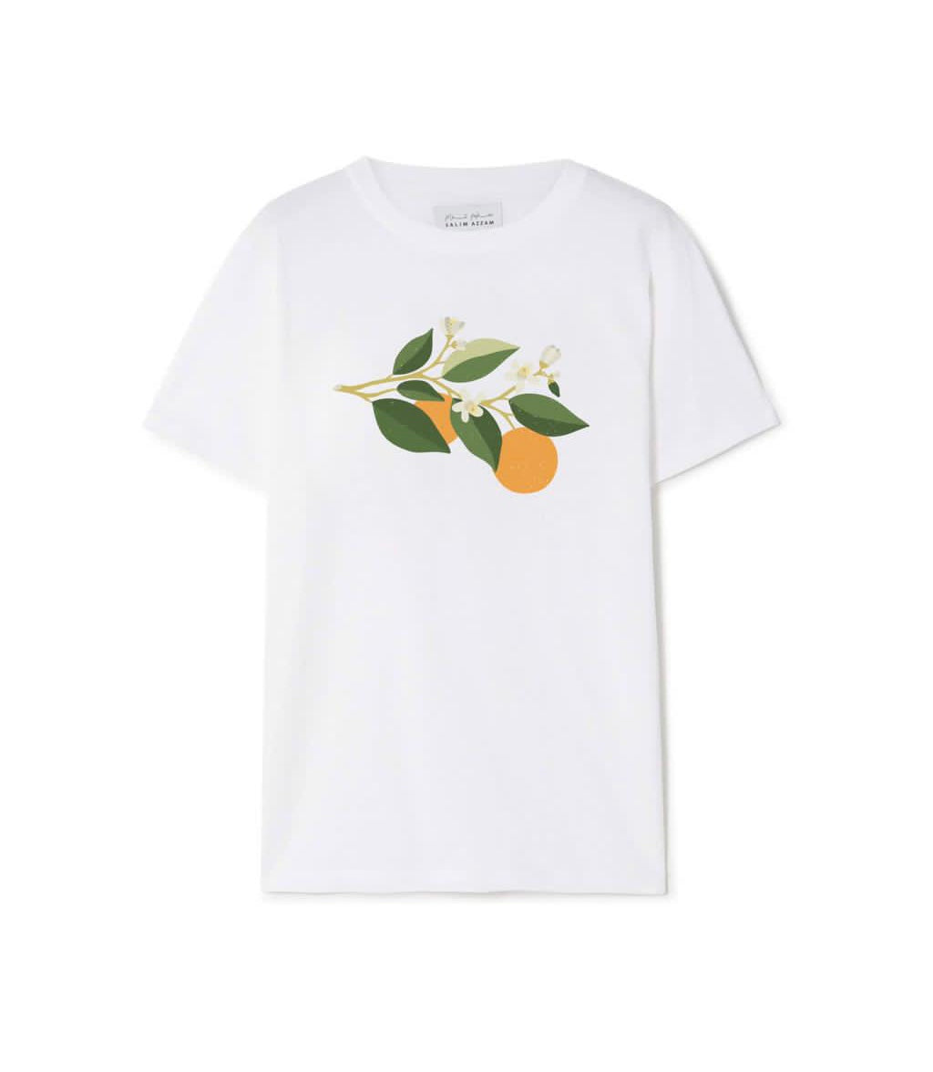 Salim Azzam Classic T-shirt - Orange Blossom