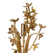 Load image into Gallery viewer, Pols Potten Orchid Gold Candle Holder