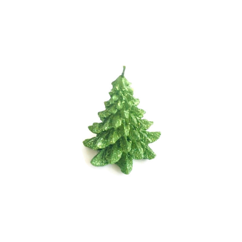 Tree Candle Green - Small