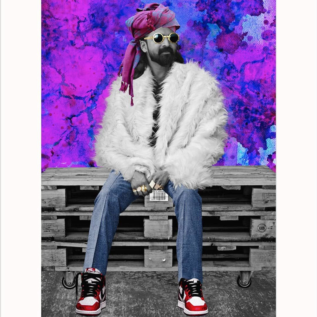 Sandpit Swag Limited Editions Fine Art Print -John Snow- Size A4- Unframed