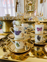 Load image into Gallery viewer, Butterfly Tea Spoons Set of 6 - Gold