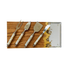 Load image into Gallery viewer, Cheese Serving Set - White MOP