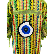 Load image into Gallery viewer, Evil Eye Kimono - Green