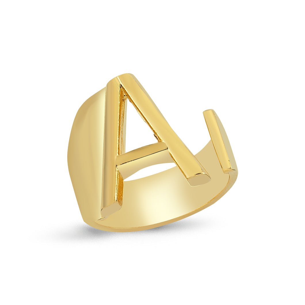 Sup Others Letter Ring - A