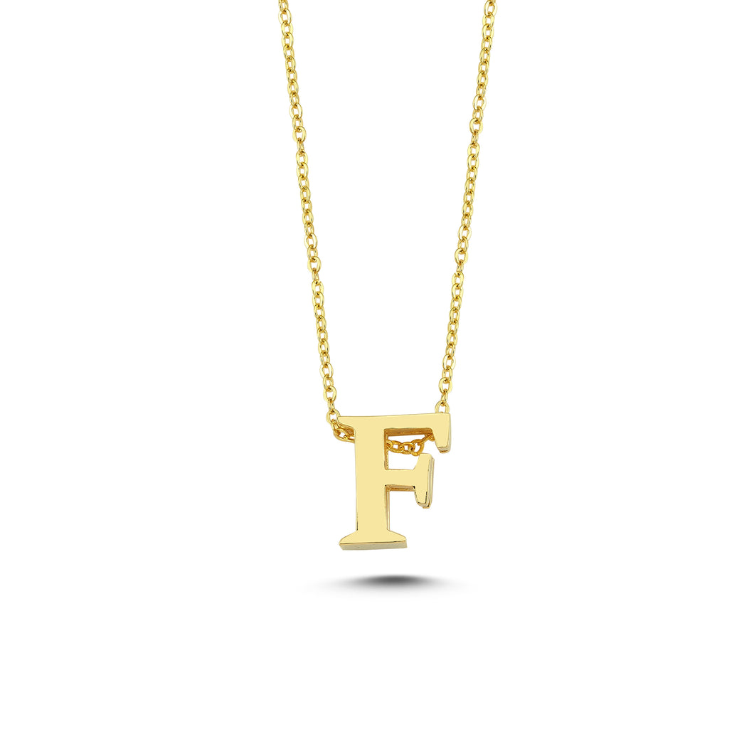 Sup Others Letter Necklace - F