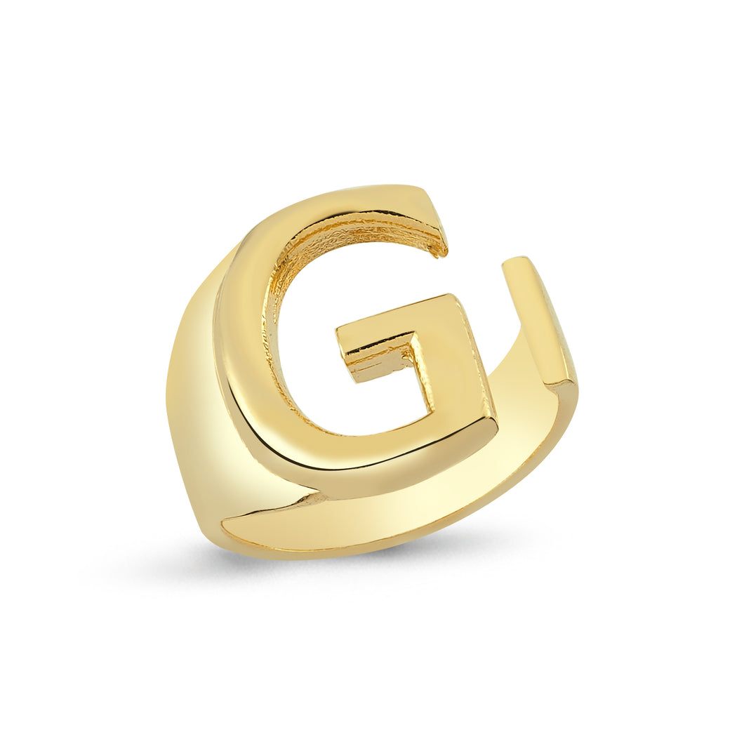 Sup Others Letter Ring - G