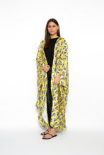 Load image into Gallery viewer, TET Yellow Flowers Pattern Downtown Kaftan