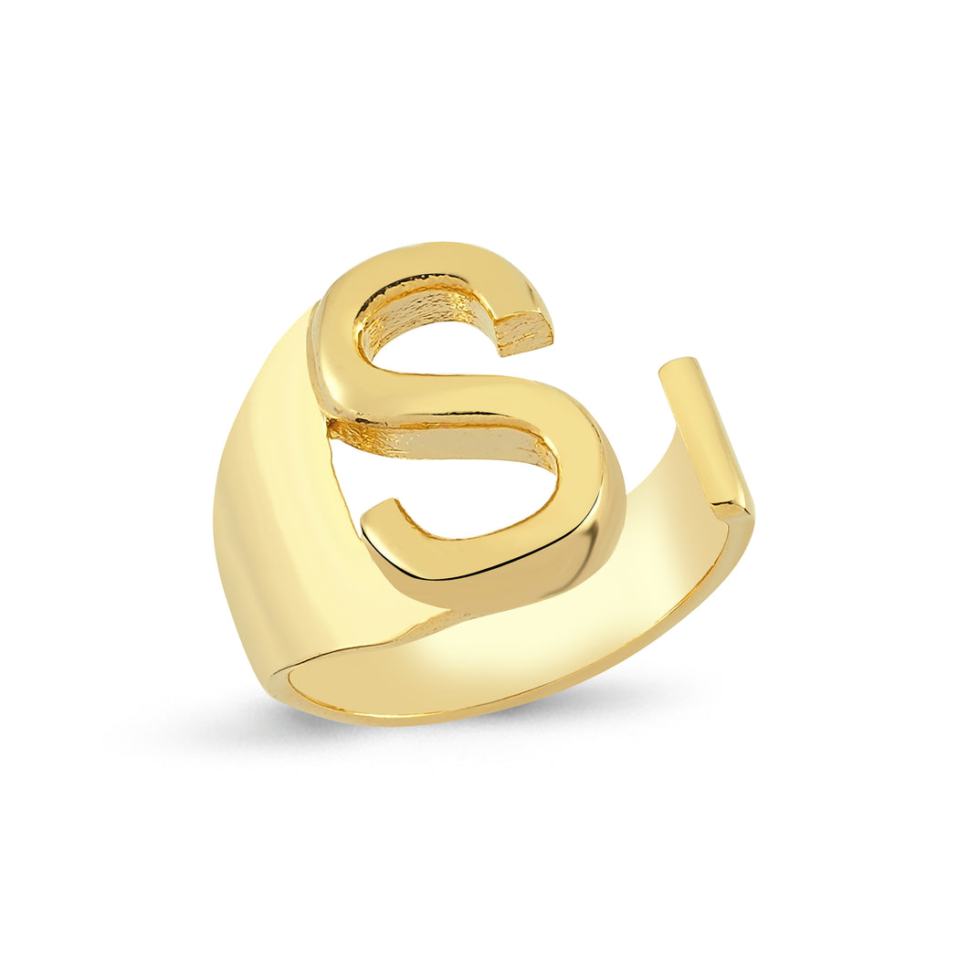 Sup Others Letter Ring - S