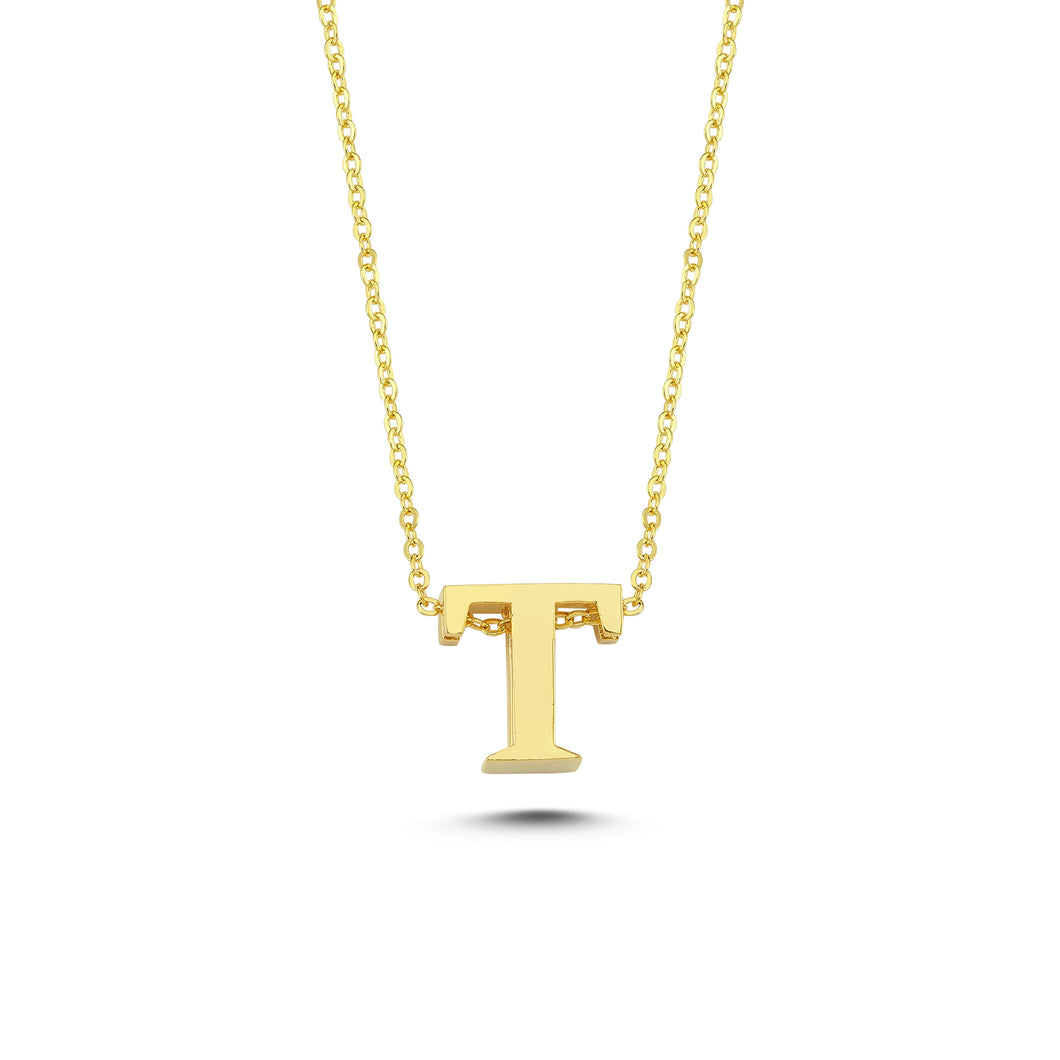 Sup Others Letter Necklace - T
