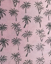 Load image into Gallery viewer, Les Ottomans Block Print Tablecloth - Palm Tree