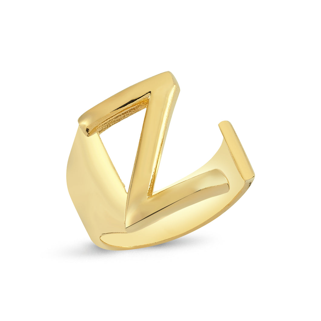 Sup Others Letter Ring - Z