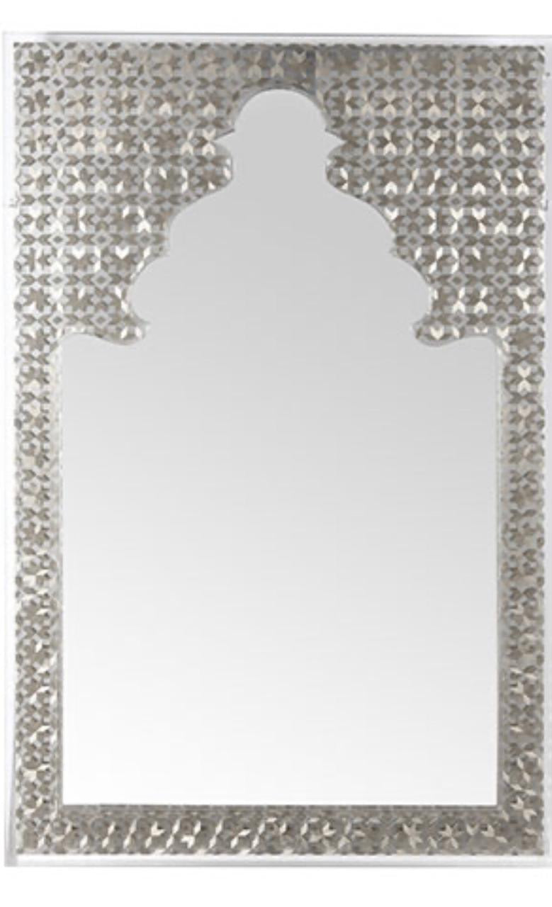 Nada Debs Arabian Nights Mirror - Silver