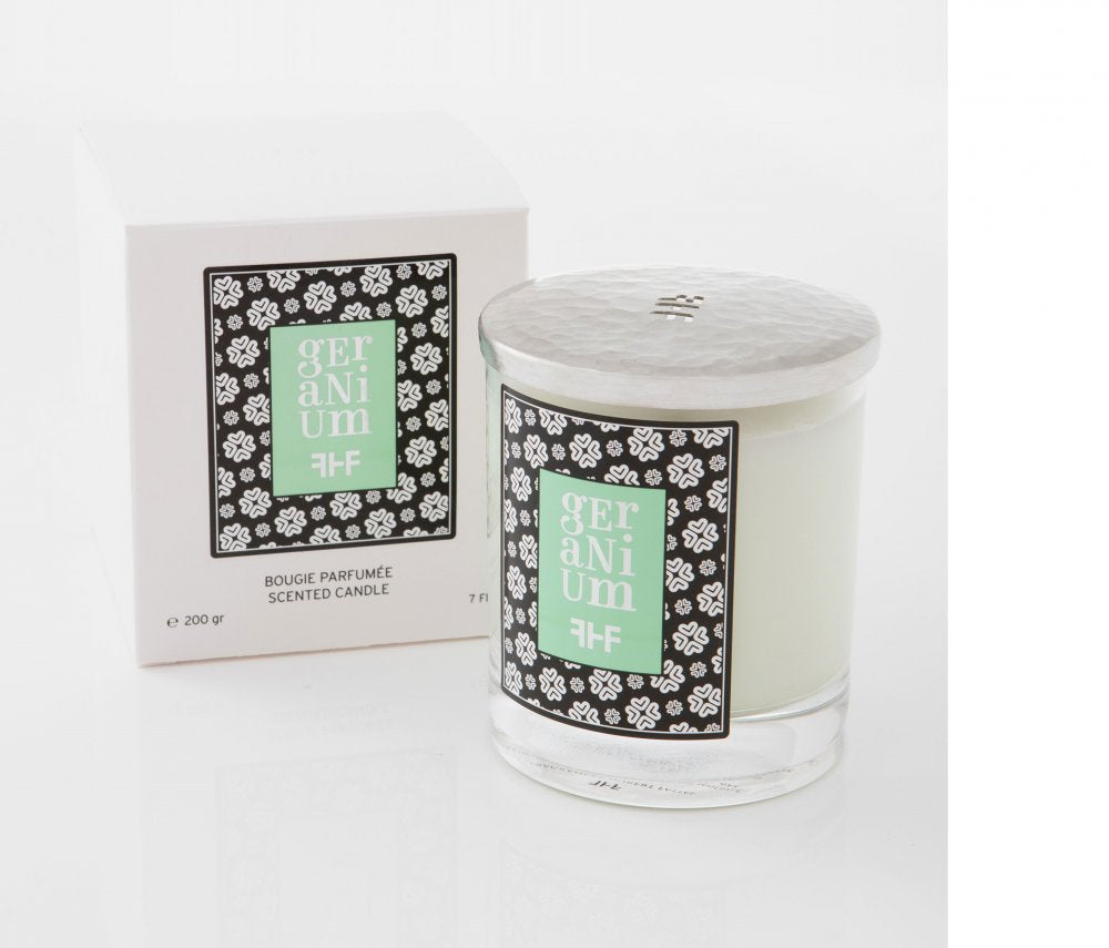 F Hubert Fattal Scented Candle 200g - Geranium