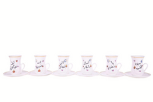 Load image into Gallery viewer, Tea Cups Umm Kulthum songs set of 6