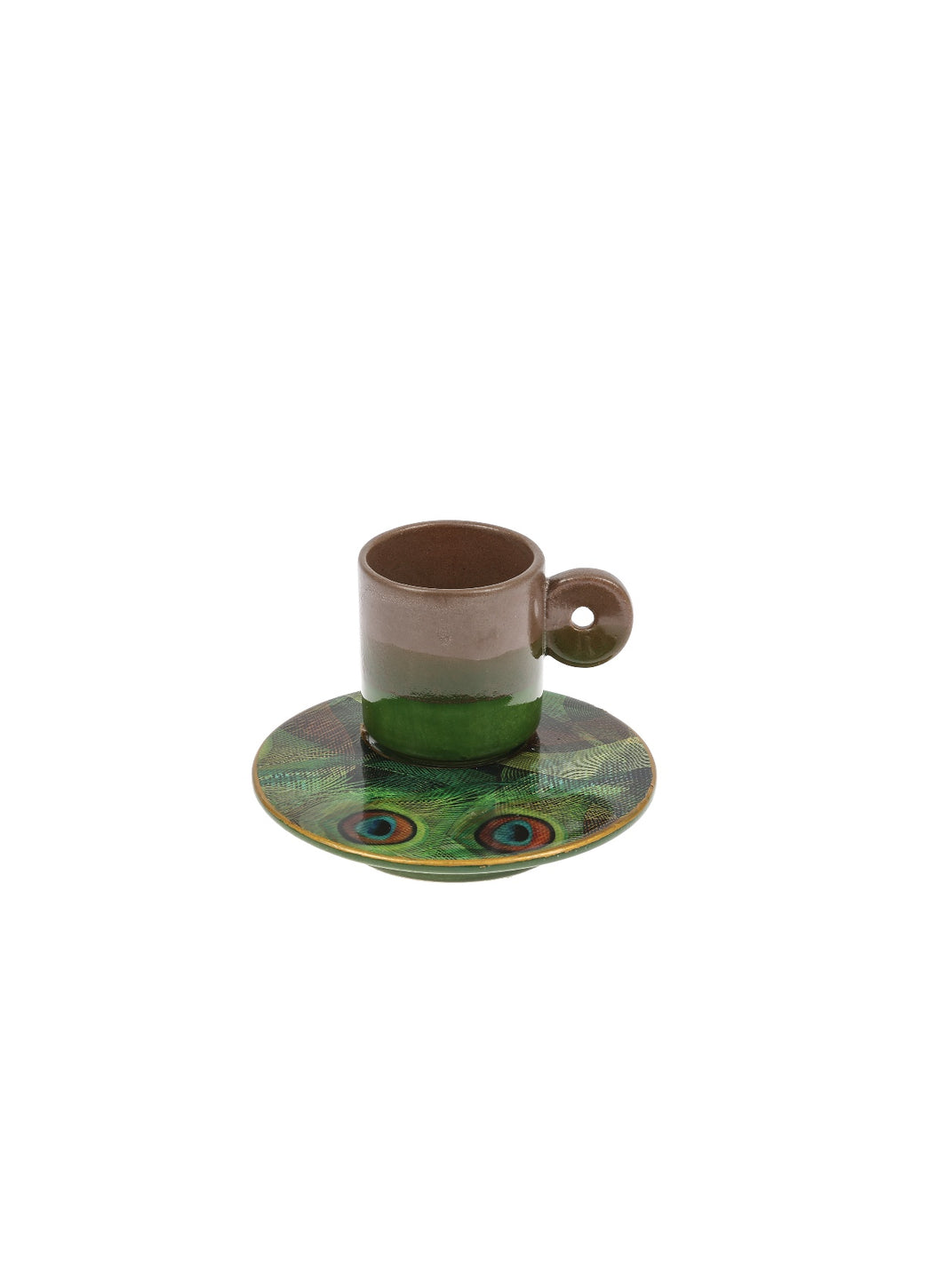 Colourful Coffee Cup ceramic- Taous