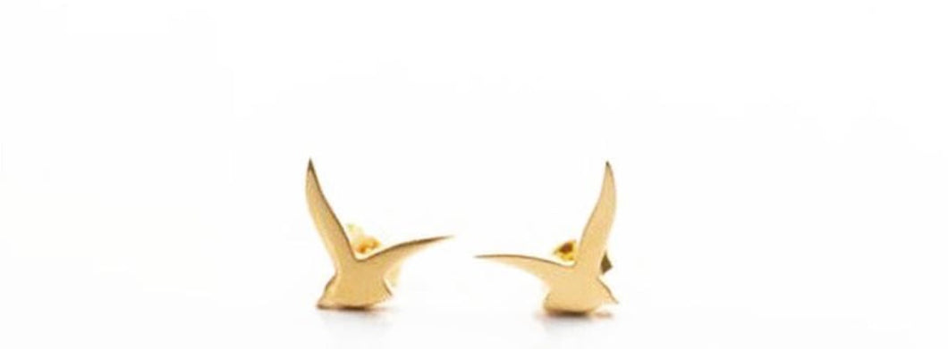 Usfuur Classic Earrings Studs 18K Gold - Yellow Gold
