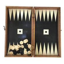 Load image into Gallery viewer, Wood Backgammon Set Small - Calligraphy Black