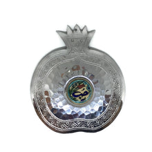 Load image into Gallery viewer, Pomegranate Charm with Ichani calligraphy - Silver