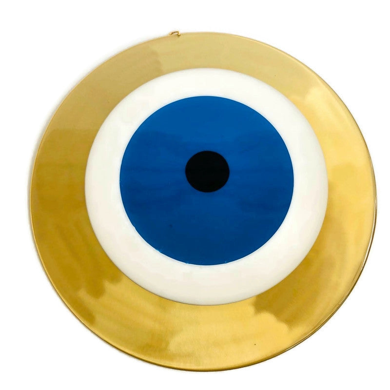 Mati Evil Eye Wall Hanging XL - Blue & Gold