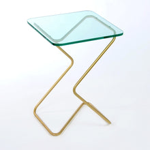 Load image into Gallery viewer, Kray Studio Crystal Table - Square - Green