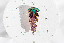 Load image into Gallery viewer, Elsa O Lavender Brooch