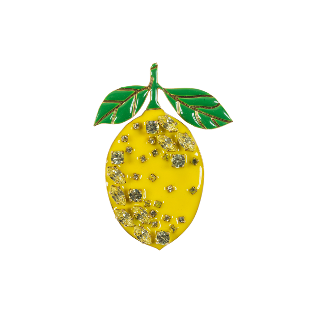 Elsa O Lemon Brooch