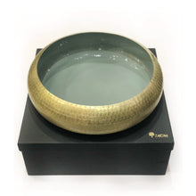 Load image into Gallery viewer, Zarina Tire Bowl Green - Medium