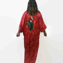 Load image into Gallery viewer, Kimora Kimono Satin - Parrot