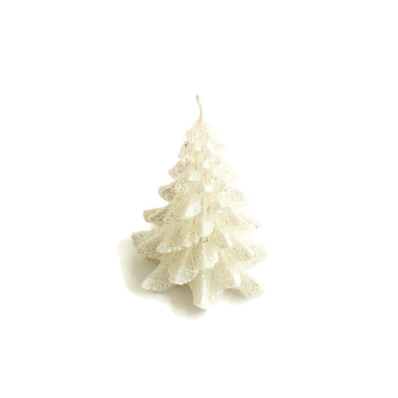 Tree Candle White - Small