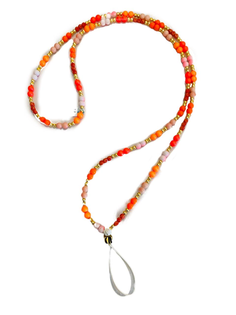 KM Phone Rosary - Orange