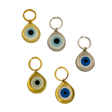 Load image into Gallery viewer, Evil Eye Keychain - Silver