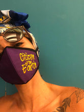 Load image into Gallery viewer, Standout Mask Reversible - Citizen of the Earth - Purple