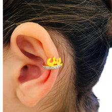 Load image into Gallery viewer, Earcuff with Arabic Letter -   ش