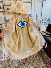 Load image into Gallery viewer, Evil Eye Kimono - Yellow