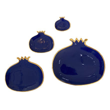 Load image into Gallery viewer, Pomegranate Plate - XL - Royal Blue