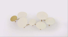 Load image into Gallery viewer, Nada Debs Pebble Low Table White /Brass