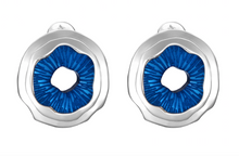 Load image into Gallery viewer, Jude Benhalim Mini Mushroom Earrings - Blue