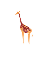Load image into Gallery viewer, Elsa O Giraffe Brooch