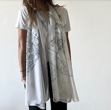 Load image into Gallery viewer, Canava Design Dubai Map Scarf