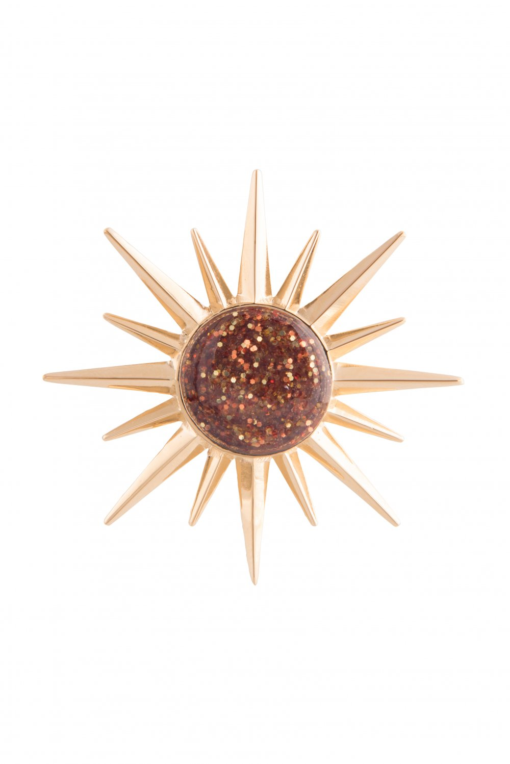 Elsa O Exotic Sun Brooch