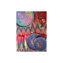 Load image into Gallery viewer, Les Ottomans x Matthew Williamson Napkin - Zigzag