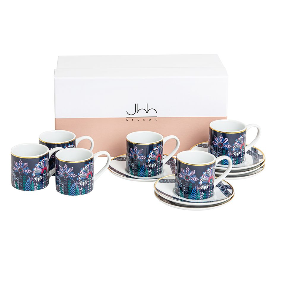 Silsal Mix & Match Gift Box Of 6 Tala Expresso Cups