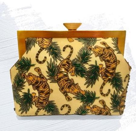 Pop Up Beirut Tigers Clutch