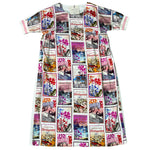 Lade das Bild in den Galerie-Viewer, Maxikleid Postcard Shirtaporter
