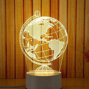 Globe Terrestre 3D Animation