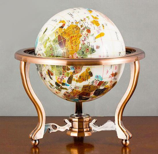 Globe Terrestre Ancien Grand Model